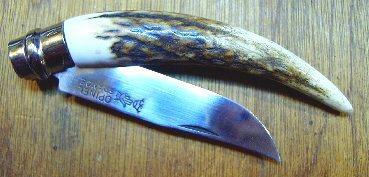 Opinel N°8 en bois de cerf